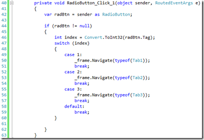 Simulating A Tab Control in a Windows 8 Application–Take 2 (3/4)