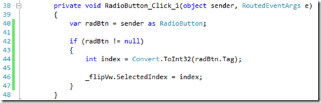 Simulating A Tab Control in a Windows 8 Application (3/4)