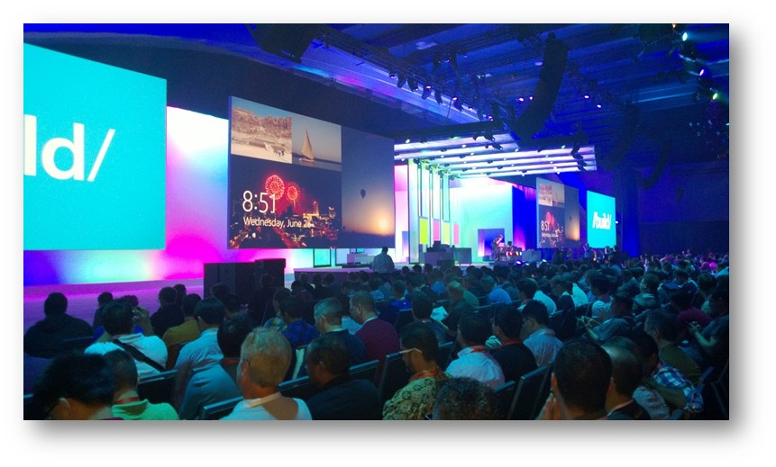 Here at Build 2013 – Day One (1/2)